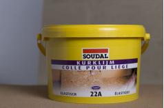 Colle spécial liège 22a pour murs et sols