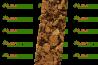 Plaque de liège naturel poncée isolante ALSACORK