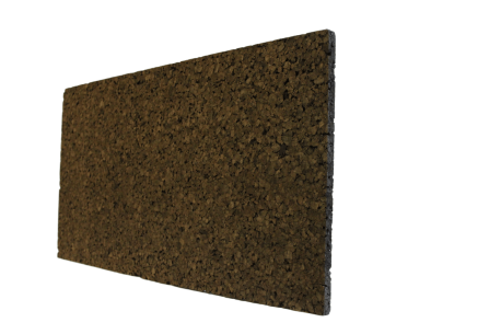 Plaque de liège expansé bord droit ALSACORK