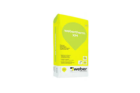 Weber therm Mortier colle - Solution ITE pour la fixation du liège expansé