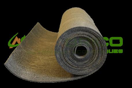 Sous-couche caoutchouc et liège en rouleau