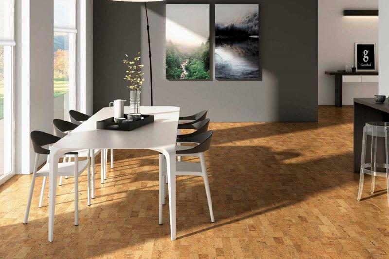 parquets flottants et sous couche en li ge naturel. Black Bedroom Furniture Sets. Home Design Ideas
