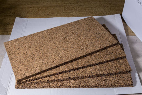 Panneau en liège naturel isolant thermique et phonique CORTIPAN 20mm