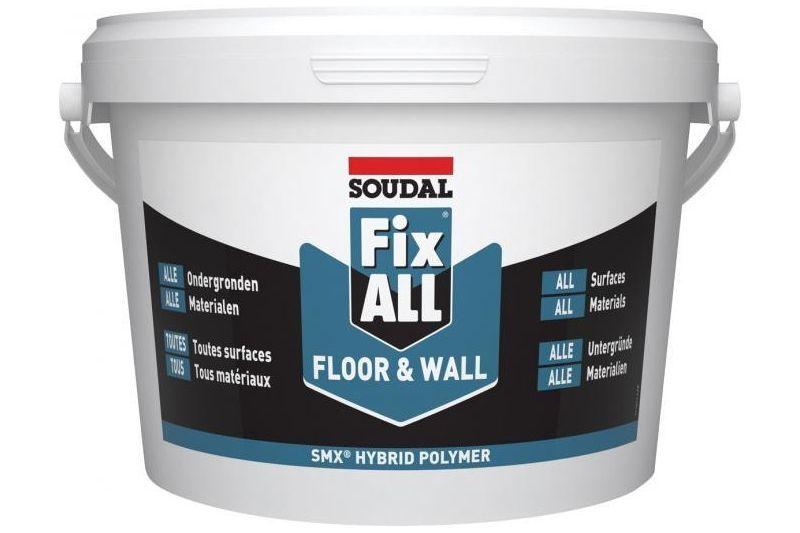 Colle pour liège mural FIX ALL Floor & Wall SOUDAL