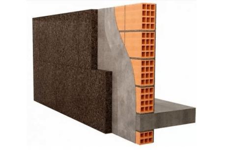 AMORIM : Panneau de liège expansé pur MD spécial façade