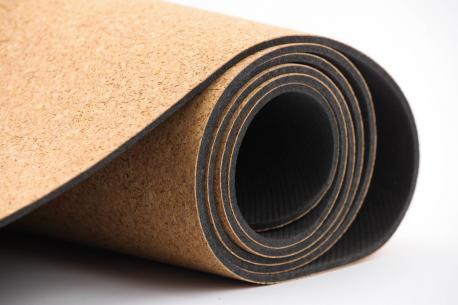 Tapis de yoga écologique en liège