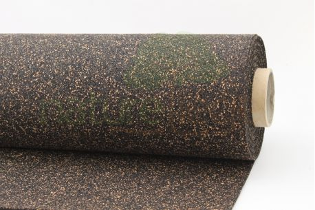 Rouleau isolant liège et caoutchouc 70/30 NOVAFLEX - Vue de profil rouleau de 6mm