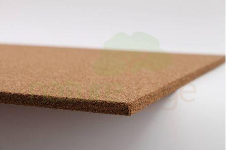 Panneau en liège naturel isolant thermique et phonique CORTIPAN - Panneau de 30mm vue de la texture