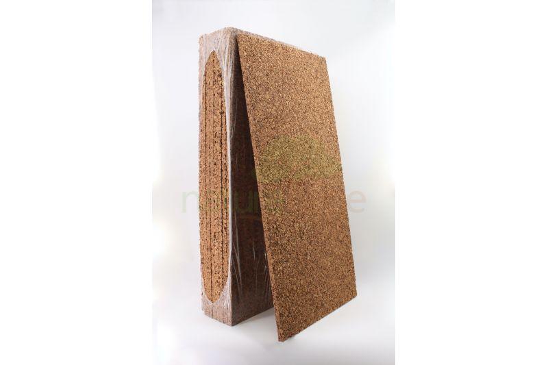 Panneau en liège naturel isolant thermique et phonique CORTIPAN - Panneau de 20mm paquet