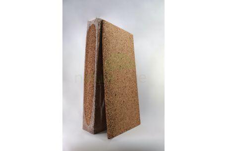 Panneau isolant dense en liège naturel (faces poncées) - Paquet 30mm