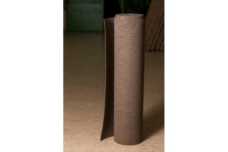 rouleau de sous couche en caoutchouc et li ge nature li ge. Black Bedroom Furniture Sets. Home Design Ideas