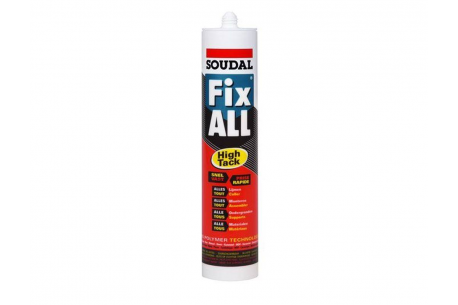 Colle forte pour fixation du liège - Fix all HT - tube de 290ml