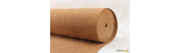 rouleaux de li ge standard pour sous couche de sols. Black Bedroom Furniture Sets. Home Design Ideas